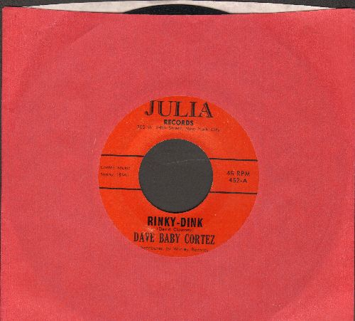 Cortez, Dave Baby - Rinky Dink/Getting Right (RARE red Julia label pressing!) - EX8/ - 45 rpm Records
