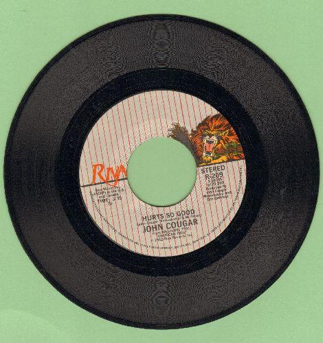 Cougar, John - Hurt So Good/Close Enough - EX8/ - 45 rpm Records