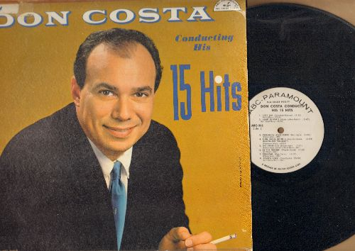 Costa, Don - Conducting His 15 Hits: Congo Mombo, Bolero Rock, Everybody Loves Pierre, Love Song From Houseboat, Heart Of Paris (vinyl MONO LP record, DJ advance pressing) - VG7/VG6 - LP Records