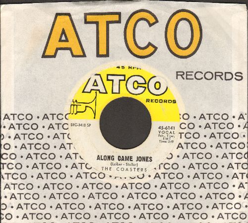 Coasters - Along Came Jones/That Is Rock & Roll (with Atco company sleeve) - EX8/ - 45 rpm Records