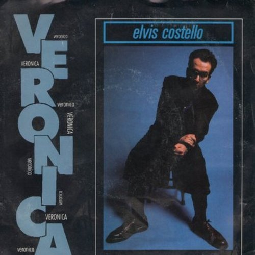 Costello, Elvis - Veronica/You're No Good (with picture sleeve) - NM9/VG7 - 45 rpm Records