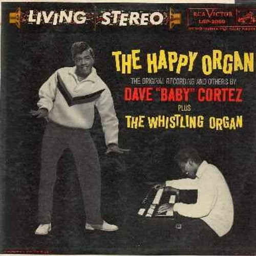 Cortez, Dave Baby - The Happy Organ: Piano Shuffle, Whispers, Red Sails In The Sunset, Septmeber Song, Whistling Organ, Summertime, It's A Sin To Tell A Lie, The Swinging Piano (RARE vinyl STEREO LP record, NICE condition!) - NM9/VG7 - LP Records