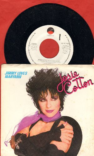 Cotton, Josie - Jimmy Loves Maryann/No Pictures Of Dad (with picture sleeve) - NM9/ - 45 rpm Records