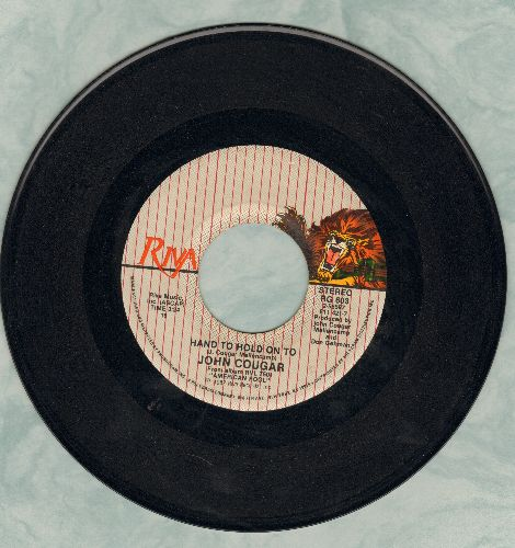 Cougar, John - Hand To Hold On To/Small Paradise  - EX8/ - 45 rpm Records