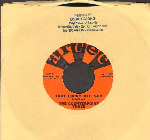 Counterpoint Three - That Lucky Old Sun/Lullaby (with juke box label) - EX8/ - 45 rpm Records