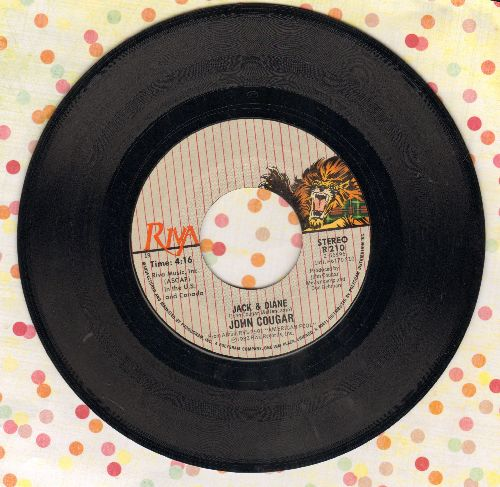 Cougar, John - Jack And Diane/Can You Take It - NM9/ - 45 rpm Records