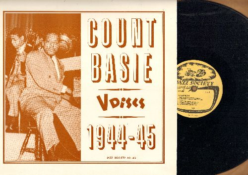 Basie, Count - Count Basie V-Discs 1944-45: Basie Strides Again, Beaver Junction, Taps Miller, On The Upbeat (vinyl LP record, Swedish Pressing, re-issue of vintage Jazz recordings) - NM9/EX8 - LP Records