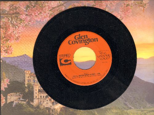 Covington, Glen - You'll Never Walk Alone/I Know Now - NM9/ - 45 rpm Records