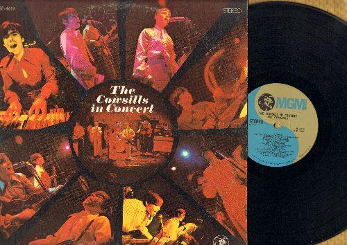 Cowsills - The Cowsills In Concert: Hair, Please Mr. Postman, Good Vibrations, Walk Away Renee, Monday Monday (Vinyl STEREO LP record) - NM9/VG7 - LP Records