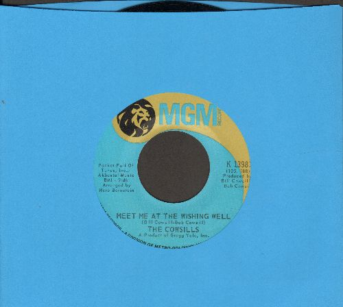 Cowsills - Meet Me At The Wishing Well/Poor Baby - EX8/ - 45 rpm Records
