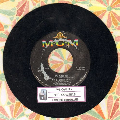 Cowsills - We Can Fly (FANTASTIC Bubblegum Sound!)/A Time For Rememberance (with juke box label) - EX8/ - 45 rpm Records