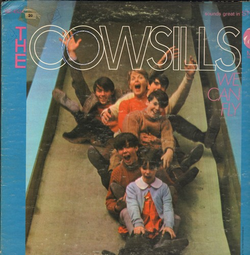 Cowsills - We Can Fly: Gray Sunny Day, One Man Show, What Is Happy Baby (Vinyl STEREO LP record) - VG7/VG6 - LP Records