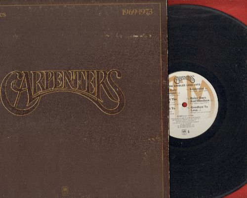 Carpenters - The Singles 1969-1973: We've Only Just Begun,Top Of The World, Sing, Close To You (vinyl STEREO LP record, gate-fold cover, BONUS Booklet with Song Lyrics!) - EX8/EX8 - LP Records