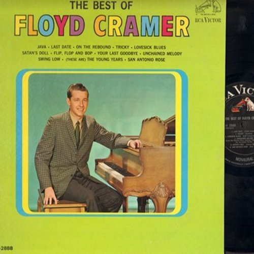 Cramer, Floyd - The Best Of: Java, Last Date, San Antonio Rose, Swing Low, Lovesick Blues (Vinyl MONO LP record) - NM9/NM9 - LP Records