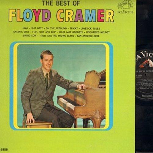 Cramer, Floyd - The Best Of: Java, Last Date, San Antonio Rose, Swing Low, Lovesick Blues (Vinyl MONO LP record) - NM9/NM9 - LP Records