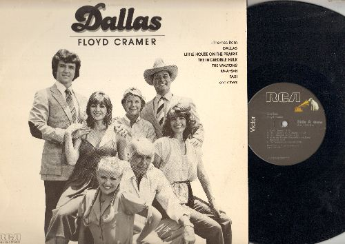 Cramer, Floyd - Dallas: The Waltons, M*A*S*H, Taxi, The Incredible Hulk, Little House On The Prairie (Vinyl LP record) - NM9/EX8 - LP Records