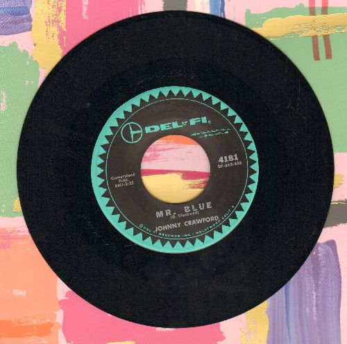 Crawford, Johnny - Your Nose Is Gonna Grow/Mr. Blue - VG7/ - 45 rpm Records