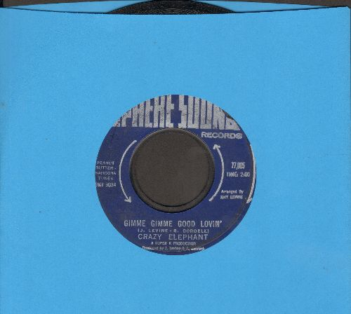 Crazy Elephant - Gimme Gimme Good Lovin'/Dark Part Of My Mind  - EX8/ - 45 rpm Records