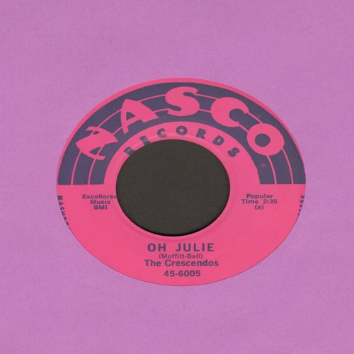 Crescendos - Oh Julie/My Little Girl - VG7/ - 45 rpm Records