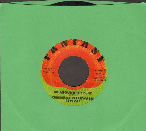 Creedence Clearwater Revival - Up Around The bend/Run Through The Jungle - EX8/ - 45 rpm Records