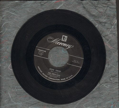 Crew-Cuts - Gum Drop/Present Arms  - VG7/ - 45 rpm Records