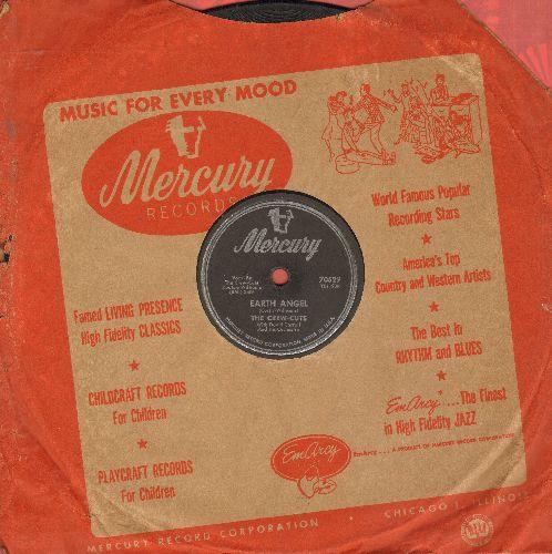 Crew-Cuts - Earth Angel/Ko Ko Mo (RARE 10 inch 78 rpm record with vintage Mercury company sleeve) - VG6/ - 78 rpm