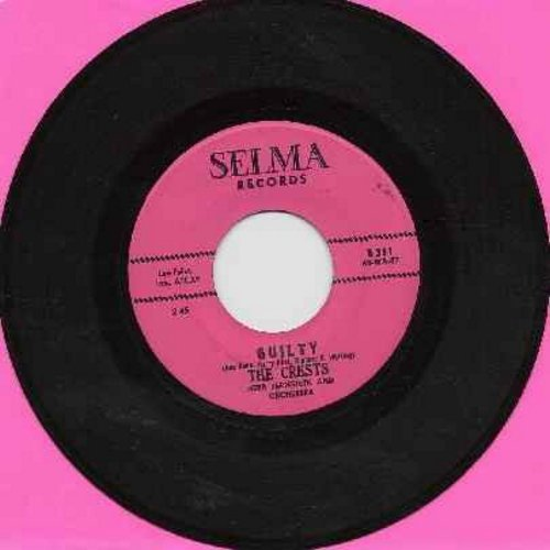 Crests - Guilty (NO talking intro)/Number One With Me - NM9/ - 45 rpm Records