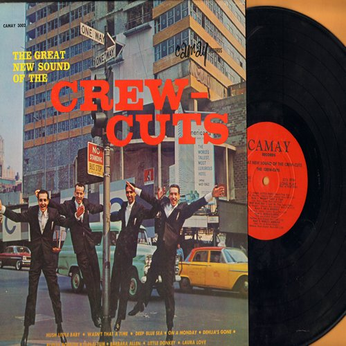 Crew-Cuts - The Great New Sound Of The Crew-Cuts: Hush Little Baby, Deep Blue Sea, Barbara Allen, Laura Love, Take Her Away (Vinyl LP record) - NM9/EX8 - LP Records