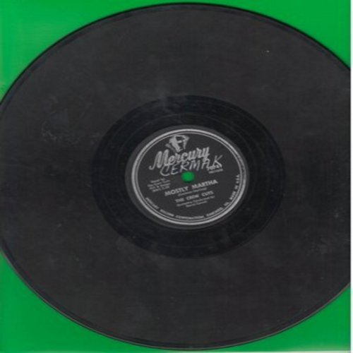 Crew-Cuts - Mostly Martha/Angels In The Sky (10 inch 78 rpm record) (wol) - VG7/ - 45 rpm Records
