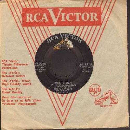 Crew-Cuts - Hey, Stella!/Forever My Darling (with vintage RCA company sleeve) - VG7/ - 45 rpm Records