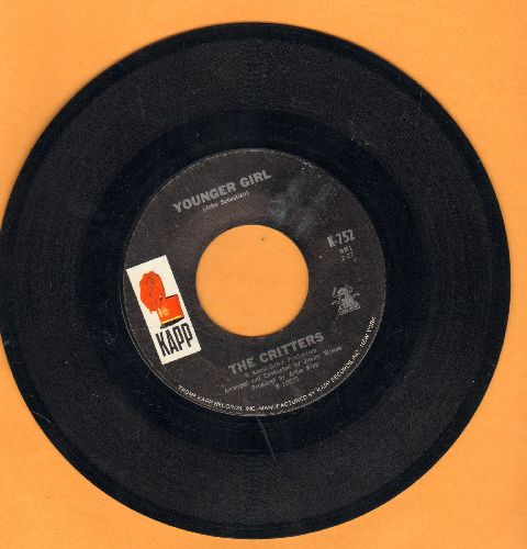Critters - Younger Girl/Gone For Awhile - EX8/ - 45 rpm Records