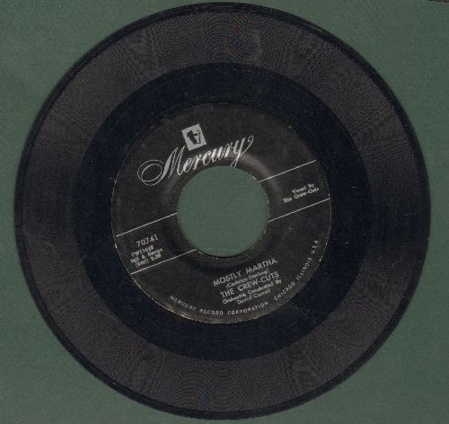Crew-Cuts - Mostly Martha/Angels In The Sky  - EX8/ - 45 rpm Records