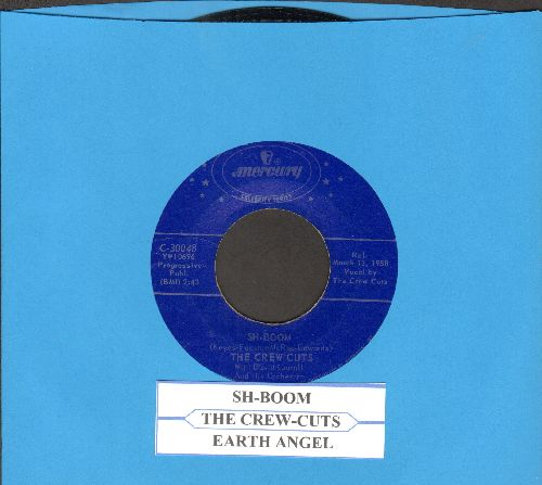 Crew-Cuts - Sh-Boom/Earth Angel (double-hit re-issue with juke box label) - EX8/ - 45 rpm Records