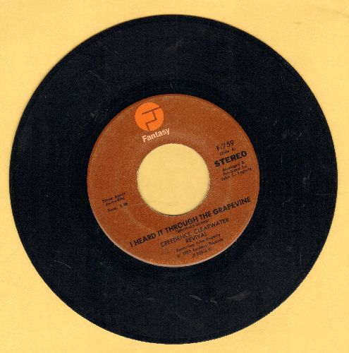 Creedence Clearwater Revival - I Heard It Through The Grapevine/Good Golly Miss Molly  - NM9/ - 45 rpm Records