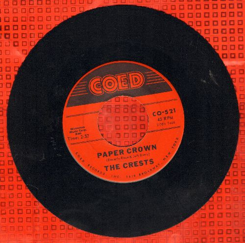 Crests - Six Nights A Week/I Do  - EX8/ - 45 rpm Records