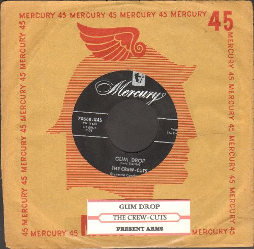 Crew-Cuts - Gum Drop/Present Arms  - EX8/ - 45 rpm Records