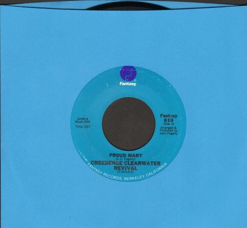 Creedence Clearwater Revival - Proud Mary/Born On The Bayou (NICE condition!) - NM9/ - 45 rpm Records