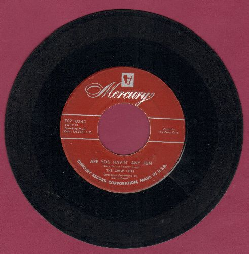 Crew-Cuts - Are You Havin' Any Fun/Slam! Bam! - VG7/ - 45 rpm Records