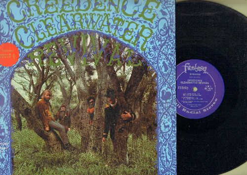 Creedence Clearwater Revival - Creedence Clearwater Revival: I Put A Spell On You, Suzie Q, Walk On The Water, Gloomy, Porterville (vinyl STEREO LP record) - EX8/EX8 - LP Records