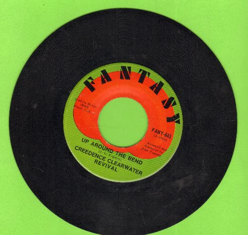 Creedence Clearwater Revival - Up Around The Bend/Run Through The Jungle - VG7/ - 45 rpm Records
