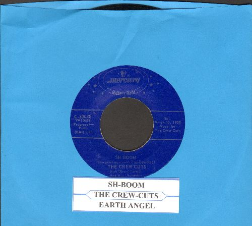Crew-Cuts - Sh-Boom/Earth Angel (double-hit with juke box label) - NM9/ - 45 rpm Records