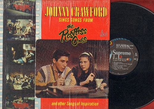 Crawford, Johnny - Johnny Crawford Sings Songs From The Restless Ones (RARE vinyl MONO LP record, NICE condition first pressing, still in shrink wrap) - NM9/NM9 - LP Records