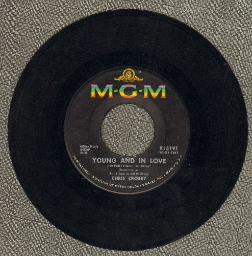 Crosby, Chris - Young And In Love/Raindrops In My Heart  - EX8/ - 45 rpm Records