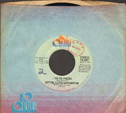 Cotton, Lloyd & Christian - I Go To Pieces/Mr. Rock 'N' Roll (with cp,pany sleeve, minor wol) - EX8/ - 45 rpm Records