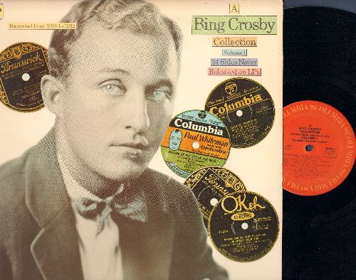Crosby, Bing - Collection Vol 1 - 14 Sides Never Released on LP: Lazy Day, Love Me Tonight, We're A Couple Of Soldiers, I Found You (Vinyl MONO LP record) - EX8/EX8 - LP Records