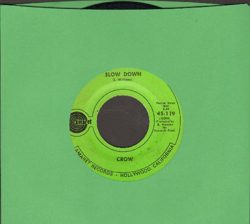 Crow - Slow Down/Cottage Cheese - EX8/ - 45 rpm Records