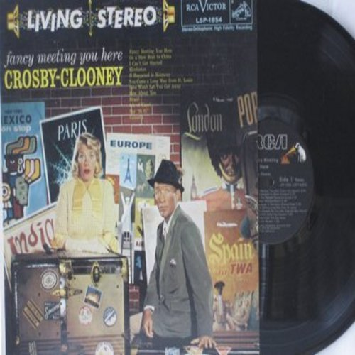 Crosby, Bing & Rosemary Clooney - Fancy Meeting You Here: On A Slow Boat To China, Brazil, Calcutta, Isle Of Capri, It Happened In  Monterey (Vinyl STEREO LP record, re-issue of vintage recordings) - M10/NM9 - LP Records