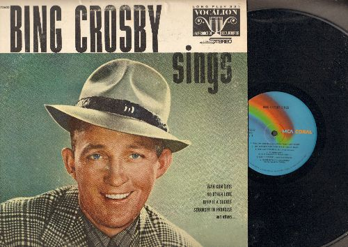 Crosby, Bing - Bing Crosby Sings: Vaya Con Dios, Stranger In Paradise, Clementine, In The Good Old Summertime, I Still See Elisa (vinyl LP record, re-issue of vintage recordings) - NM9/EX8 - LP Records