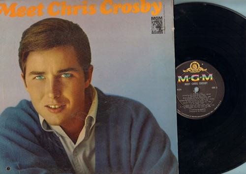 Crosby, Chris - Meet Chris Crosby: The Glory Of Love, She Called Me Baby, Young And In Love, Always (vinyl MONO LP record) (cut out hole cover) - NM9/EX8 - LP Records