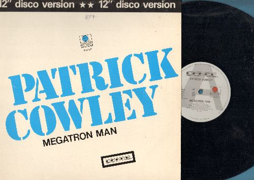 Cowley, Patrick - Megatron Man/Get A Little (12 inch vinyl Maxi Single with picture cover, Eurpean Pressing - EX8/EX8 - Maxi Singles